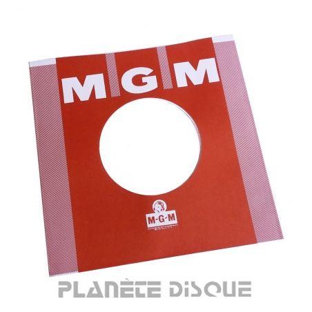 Pochette papier imitation 45T MGM No 1